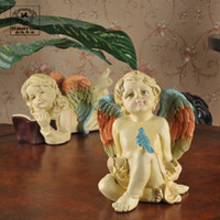 Wholesale European style garden ornaments crafts home furnishing European angel ornament wedng gifts