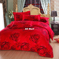 Wholesale Bed linen Sheet Bedding High Quality Velvet Fabric CVC Cotton Bedding sets Bed Sheet