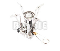 Wholesale New Portable Outdoor Gas Powered Butane Propane Steel Camping Picnic Stove with Caes