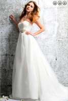 Wholesale fashion vestidos pregnant woman white long bridal formal gowns plus size beach lace wedding dresses with Removable belt