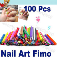 Wholesale Polymer Clay Nail Art Canes Stickers D Decorate