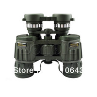 Wholesale Hot Sale NEW x42 m m Zoom Telescope Binoculars for Camping Hiking Hunting Army Green Military Style