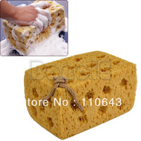 Wholesale New Practical Yellow Car Vehicle Cleaning Washing Cuboid Coral Car Cleaning Sponge