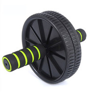 Wholesale fitness equipment abdominal wheel for exercise Abdominal Wheel Ab Roller With Mat For Exercise