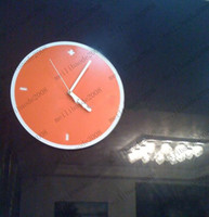 Wholesale Simple Style Wall Clock Orange Only MYY8035