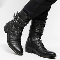 Half Boots Men Winter smileseller2010 Fashion Multi rivets men boots