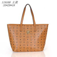 Shoulder Bags Women Houndstooth Free shipping ladies women handbags MCM Fashion Shoulder Bags designer brand tote bags Hot selling Classical style 119100
