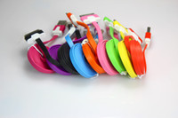 For Apple iPhone   1M 3FT Flat Noodle USB cable sync data charger cable for iphone3G 3GS 4G for iphone 5 5s 300PCS