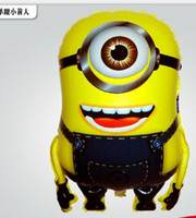 Wholesale 2013 NEW Despicable me minion hydrogen balloon cartoon balloon children s toy