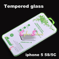 Wholesale 0 mm Premium Tempered Glass Toughened Glass Film Screen Protector Protective For iPhone G S C with retail package