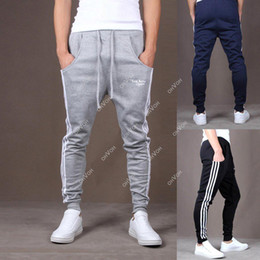 Wholesale S5Q Men Casual Hip Hop Dance Skinny Taper Sweat Sport Harem Pant Trousers Slacks AAACUQ