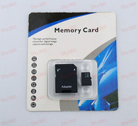 TransFlash Cards   DHL EMS 64GB Micro sd card TF Memory Card with Free Adapter and Retail Package sky360 50pcs