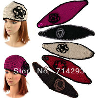 Wholesale Fashion Women s Girl Lady Headband Hairband Knit crochet Headwrap