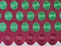 Wholesale The Best Wine Red Smooth Cotton African Lace Fabric Swiss Voile Lace Clothing With Eyelet Holes