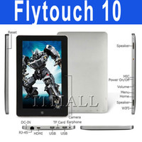 Wholesale Flytouch Inch dual core GPS Tablet PC Android Cortex A5 GHz GPS HDMI Superpad V101 dual core tablet PC Epad inch HDMI