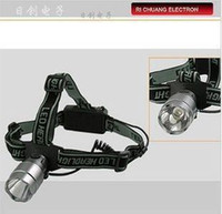 Wholesale Creeq2 bulb aluminum alloy w caplights headlight glare outdoor camping headlights