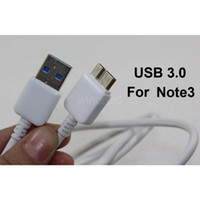 Note 3 For Samsung  Charger Cable For Samsung Galaxy Note 3 Micro USB 3.0 Data Sync 1M 3ft Charging for Note3 N9000 N9005 N9006 Hot Selling with logo 10pcs