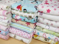Wholesale children baby blanket coral fleece cm kid top Quality super soft baby blanket plush small blanket