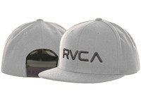 Wholesale 2013 new arrival RVCA Snapback hat cheap men s most popular adjustable caps grey freeshipping