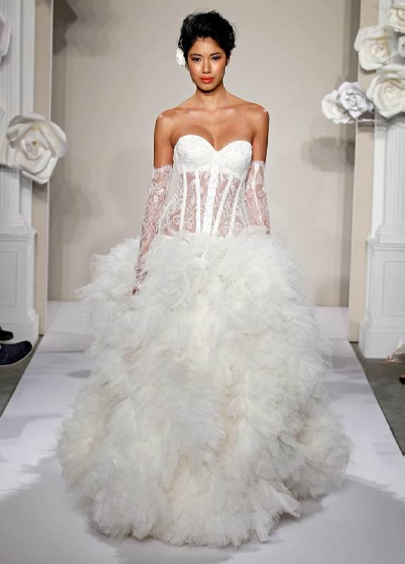 Tornai ball gown wedding dresses bridal gown with sweetheart lace up