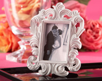 Wholesale Promotion sale wedding favor quot White Baroque quot Elegant Place Card Holder Photo Frame