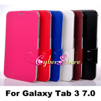 Wholesale Book Style Thin Retro Flip PU Leather Case Cover With Stand For Samsung Galaxy Tab P3200 P3210