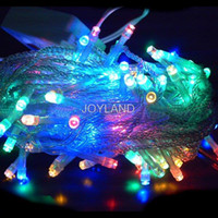 Wholesale v V Led String Christmas Lights m leds With Modes for Holiday Party Decoration