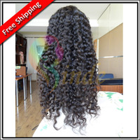 Indian remy hair best stock shorts - Stock quot quot Best Sell Indian remy Hair Deep Wave Lace Front Wigs Glueless