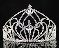 Wholesale Manufacturers specializing in the supply Korean fashion bridal tiara crown rhinestone crown Crystal Crown