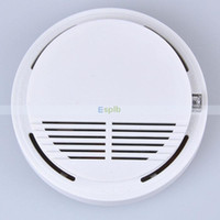 China,Guangdong(Mainland) home security equipment - High Sensitive Photoelectric Home House Building Security System Cordless Wireless Smoke Detector Fire Alarm Equipment Device