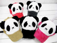 Wholesale Children s winter girls boys cute cartoon panda baseball caps popular baseball hats kids popular hat
