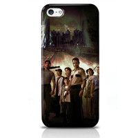 For Apple iPhone PC For Christmas Iphone 5 5S 5C Covers Designer Stylish Phone Cases Durable and Lightweight Best Cell Phone Protectors Various Pattern The Walking Dead