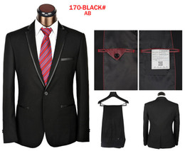 Wholesale jumpsuits Men s Dress Suits Branded Shiny Formal Suits Size S XL Fashion Tuxedos size S XL