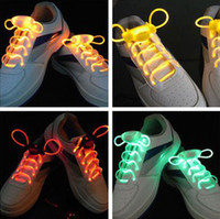 Home LED Shoelace  2nd Gen LED Glowing Flashing Flash Super bright Shoelaces Shoelace Shoe laces shoestring bootlace FREE SHIPPING