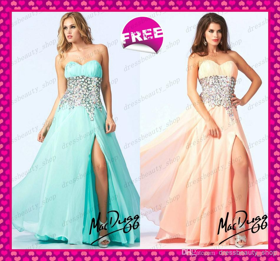 2016 mint green peach beaded chiffon prom dresses under for Wedding dresses under 150 dollars