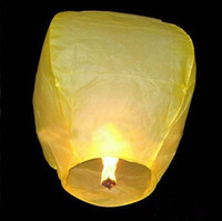 Chinese New Year   Kongming Wish Paper Lantern Lights Candle Lamps Wedding Xmas Halloween Party Balloons Sky lantern 2000pcs lot