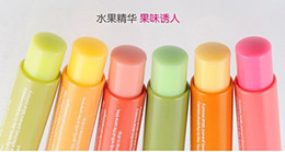 Wholesale fm244 Moisturizing ruddy pure fruit extraction light colour lip balm