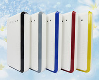 Wholesale 20000mAh Huge Capacity Dual USB LED Portable Backup Battery External Power Bank Charger For Universal Mobile Phone Tablets ETC