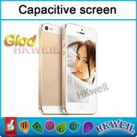 WIFI 5S Cell Phone With 4. 0Inch Capactive Touch Screen Singl...