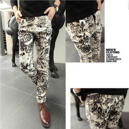 Wholesale Men Hair stylist popular Casual pants Cotton Trousers