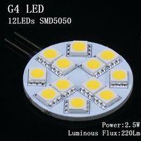 El envío libre substituye la lámpara SMD5050 de la luz del punto del Cree G4 3.2W LED del ángulo del haz de la lámpara del halógeno 30W 12V 16leds garantía 2 años 10pcs