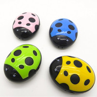Wholesale Hot Selling Mirror Clip MP3 Player Coccinella septempunctata MP3 Player