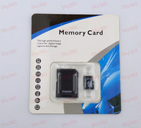 Wholesale 64GB Android Smartphone Class Micro sd card TF Memory Card with Free Adapter and Retail Package Micro sd