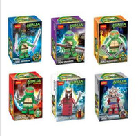 Wholesale Action Figures Minifigures a set suit with arms skateboard Mirage Teenage Mutant Ninja Turtles TMNT