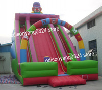 Wholesale inflatable slide child inflatable trampoline large combination amusement equipment customize