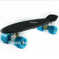 """Long Board 57*15*12 Yes Wholesale - Free Shipping 22.5"""" Penny Style Skate Board 2013 Nickel Cruiser Plastic Skateboard Longboard"""