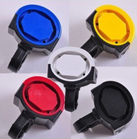 Wholesale 5 color Bike Bicycle Cycling Voice Electric Horn Bell Speaker Alarm Siren LJ