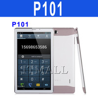 10 inch Dual Core Android 4.2 10 Inch MTK6572 Dual Core Phablet Android 4.2 GSM 2G Phone Calling Bluetooth Dual Camera Tablet PC free Case Bluetooth Headset Battery P101