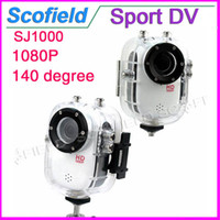 Wholesale SJ1000 Inch waterproof shell Degree A Wide Angle x H Outdoor Sports Home Security HD DV CAR DVR Camera