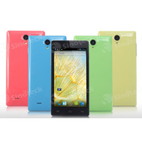 Cheap MTK6582 Quad Core 1.3GHZ JIAKE JK11 5.0 Inch 3G WCDMA Android 4.2.2 1GB 4GB Cheap Smart Cell Phone Unlocked Color SmartPhone Mobile DHL FREE